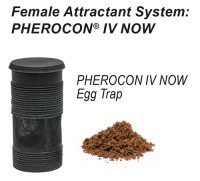 Female attractant system featuring Pherocon IV NOW Egg Trap