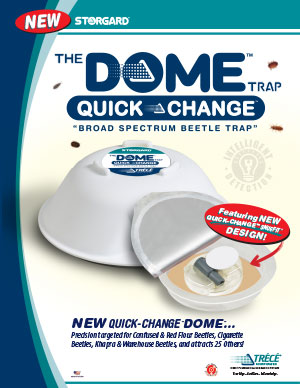 DOME™ QUICK-CHANGE™ Broad Spectrum Beetle Trap Brochure