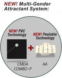 PHEROCON® CMDA COMBO ™- P + AA with and without AA